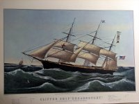 "Clipper Ship ""Dreadnought"""