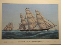 "Clipper Ship ""Sweepstakes"""