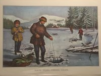 Winter Sports - Pickerel Fishing