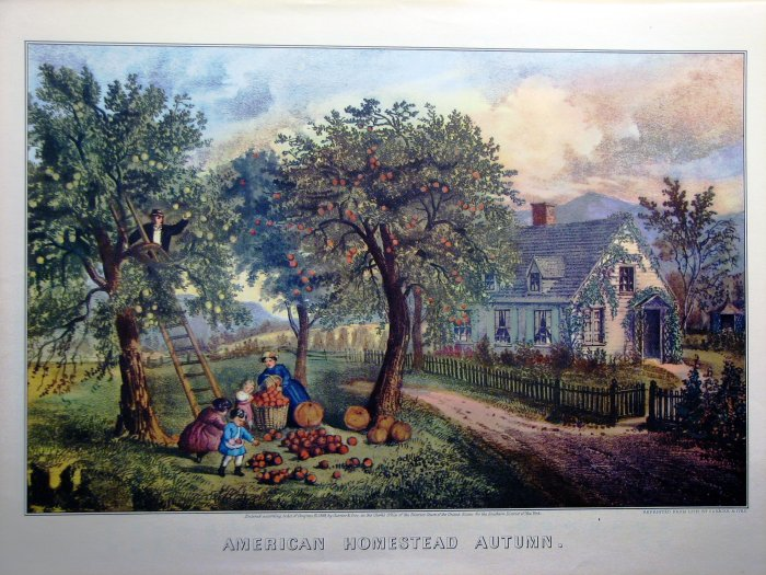 American Homestead Autumn