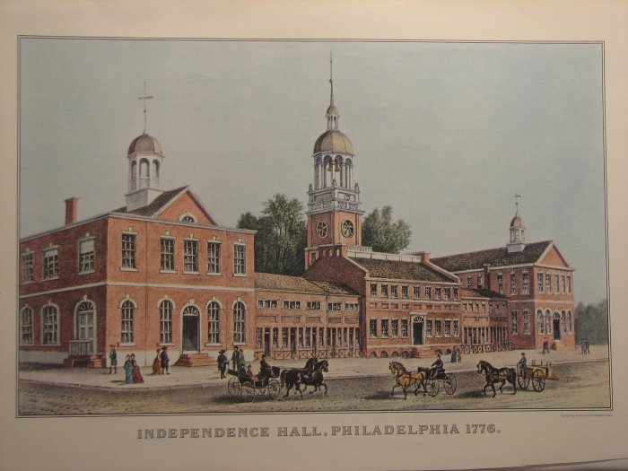Independence Hall, Philadelphia 1776